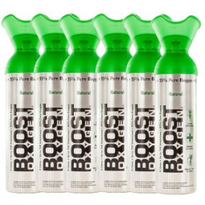 Boost zuurstof 6 pack naturel 9 liter